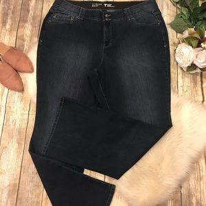 LANE BRYANT SIZE 24 LONG BOOT CUT